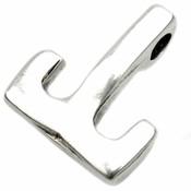 Zilver Haaksluiting  Ø4mm Zilver DQ 23x20mm