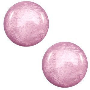 Paars Polaris cabochon Mosso shiny Light mauve purple 7mm