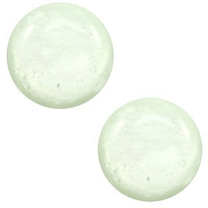 Groen Polaris cabochon Mosso shiny Relaxing green 7mm