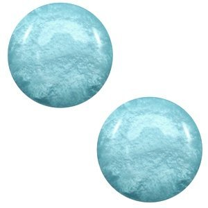 Blauw Polaris cabochon Mosso shiny Eton blue 7mm