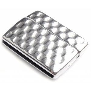 Zilver Magneetsluiting Ø20x2.5mm Zilver DQ