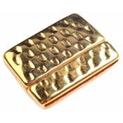 Goud Magneetsluiting Ø20x2.5mm Goud DQ