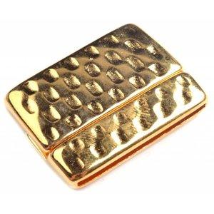 Goud Magneetsluiting Ø40x2.5mm Goud DQ