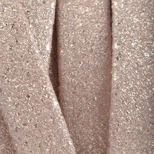 Roze Luxe plat leer geschuurd rosegold 10x2mm - prijs per cm
