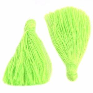 Groen Kwastje ±25mm Bright Green