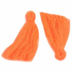 Kwastje ±25mm Bright Orange