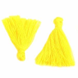 Geel Kwastje ±25mm Yellow
