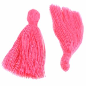 Roze Kwastje ±25mm Pink