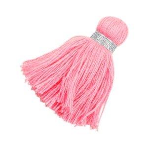Roze Ibiza kwast Zilver-pink 3,6cm