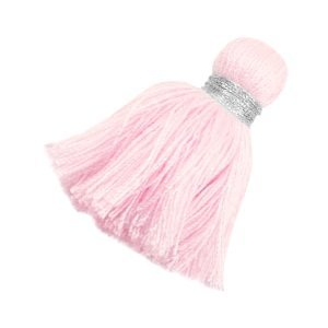 Roze Ibiza kwast Zilver-light rose 3,6cm