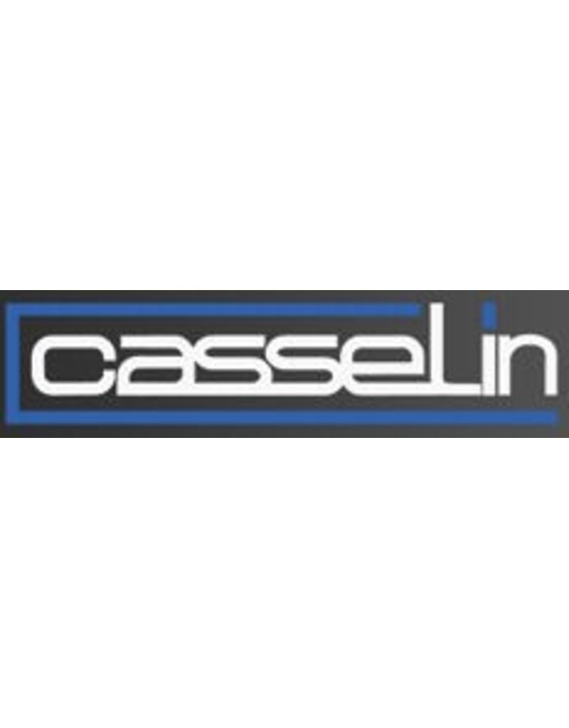 Casselin Casselin sterke handdroger C1 in RVS wit of zilver