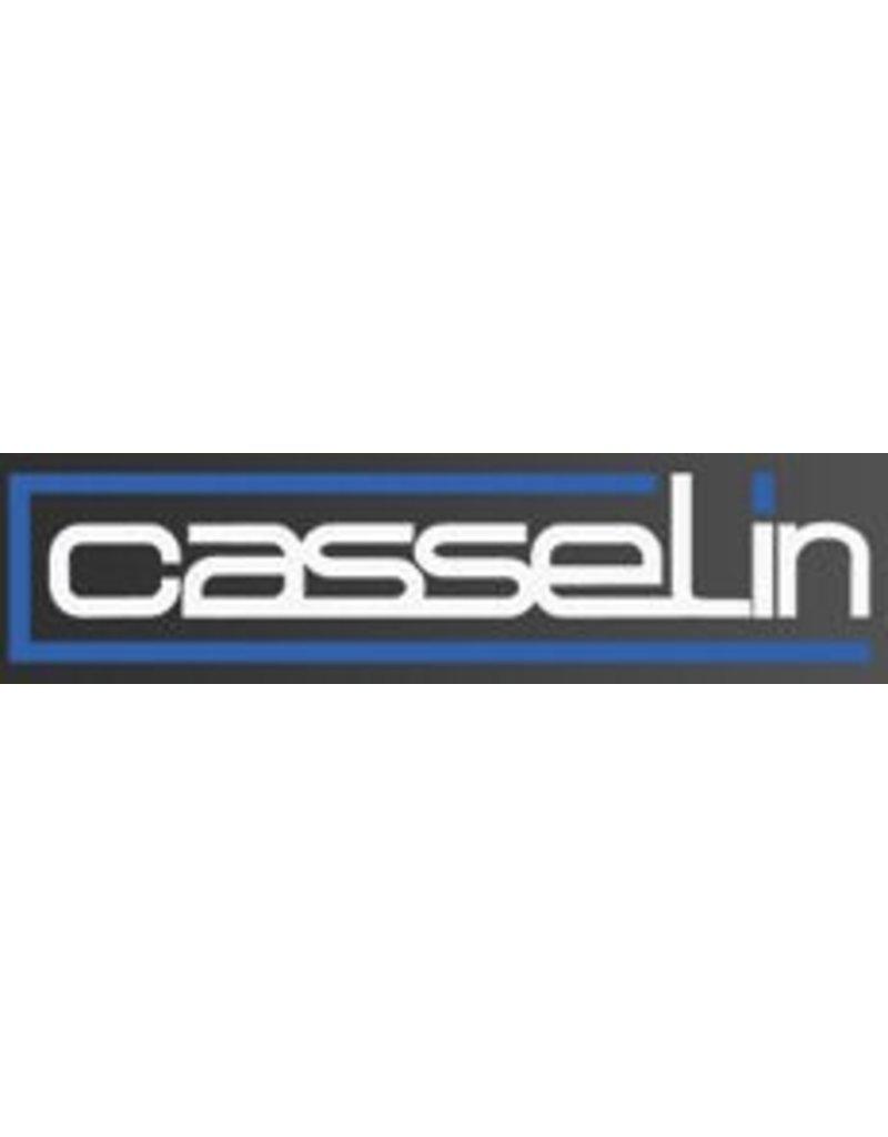 Casselin Casselin krachtige hetelucht handendroger met draaibare blaasmond en RVS behuizing
