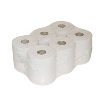 Europroducts Euro Midi Poetspapier 1 laags wit 300 mtr