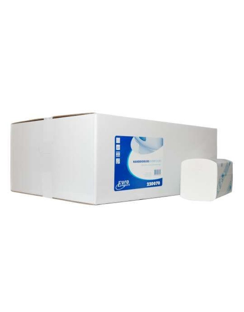 Europroducts Euro Interfold cellulose tissue 2 laags ECO label