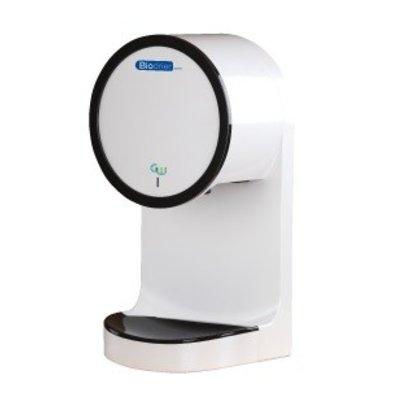 Biodrier GWave elektrische hetelucht handendroger met wateropvang en HEPA