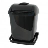 PlastiQline Plastiqline Mini hygiënebak 8 liter zwart