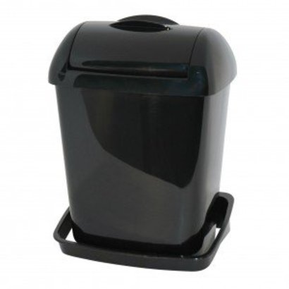PlastiQline Plastiqline Mini hygiënebak compact model zwart