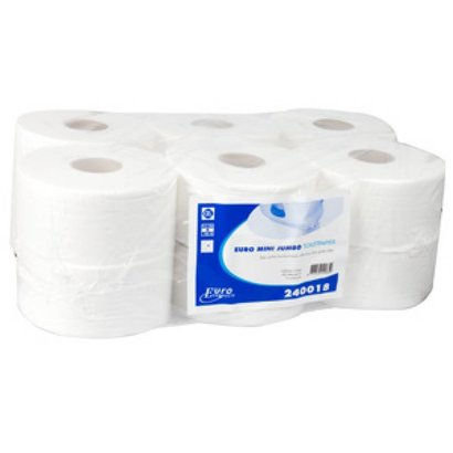 Europroducts Europroducts mini jumbo rol cellulose 12 x 180 mtr