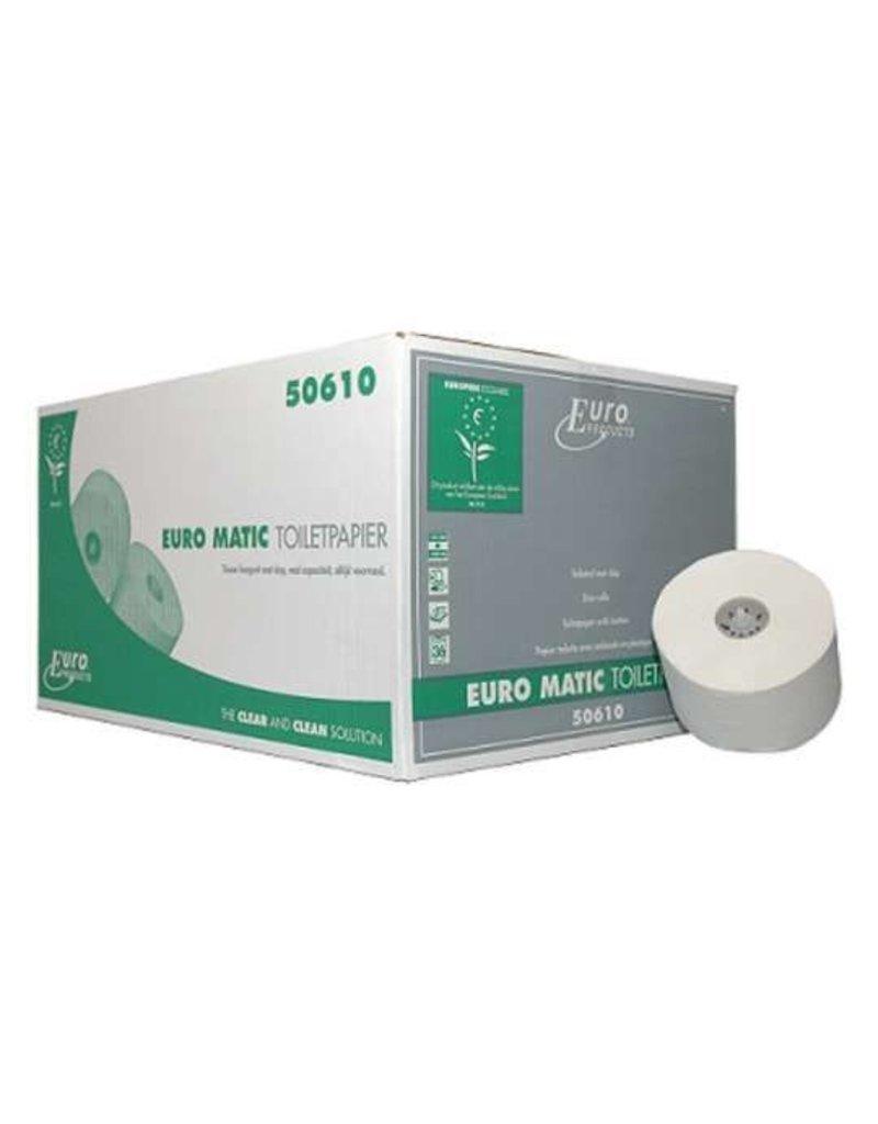 Europroducts Europroducts toiletpapier tissue met dop 2 laags hoogwit