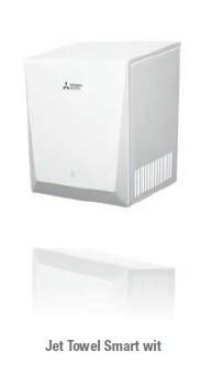 mitsubishi handdroger jet towel smart in wit handdroger. Black Bedroom Furniture Sets. Home Design Ideas