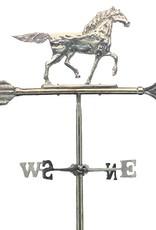 Windwijzer paard messing