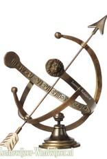 Zonnewijzer Apollo brons Ø 28 cm