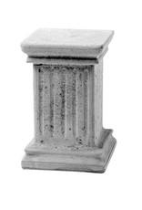 Sokkel grijs hoogte 50 cm, beton