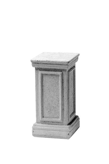 Sokkel grijs hoogte 47 cm, beton