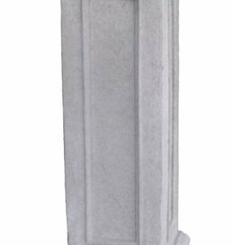Sokkel grijs hoogte 87 cm, beton