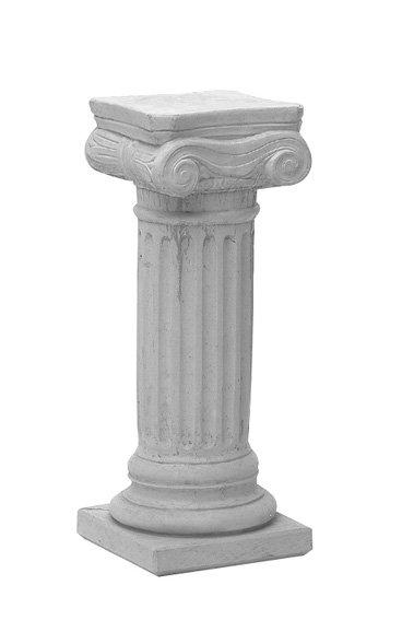 Sokkel grijs hoogte 64 cm, beton