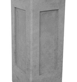 Sokkel grijs hoogte 45 cm, beton