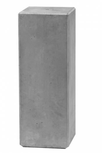 Sokkel grijs hoogte 60 cm, beton