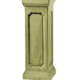 Sokkel vierkant geel hoogte 76 cm, beton