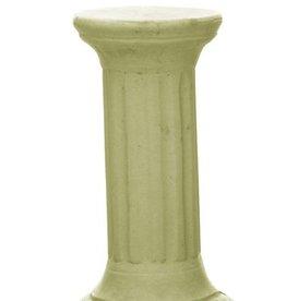 Sokkel geel rond hoogte 45 cm, beton