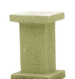 Sokkel geel hoogte 46 cm, beton