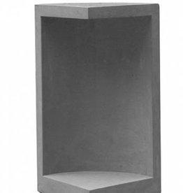 Sokkel modern antraciet hoogte 50 cm