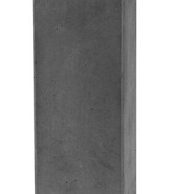 Sokkel antraciet hoogte 60 cm, beton
