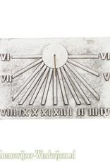 Zonnewijzer muur beton rechthoek