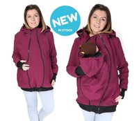 Fun2BEmum ® NEW 3in1 Allweather Softshell – Prune