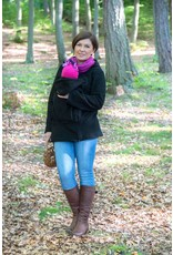 BASIC Fleece draagvest – Zwart
