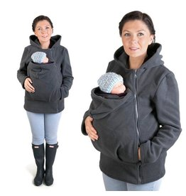 BASIC Fleece babywearing jacket - Graphite
