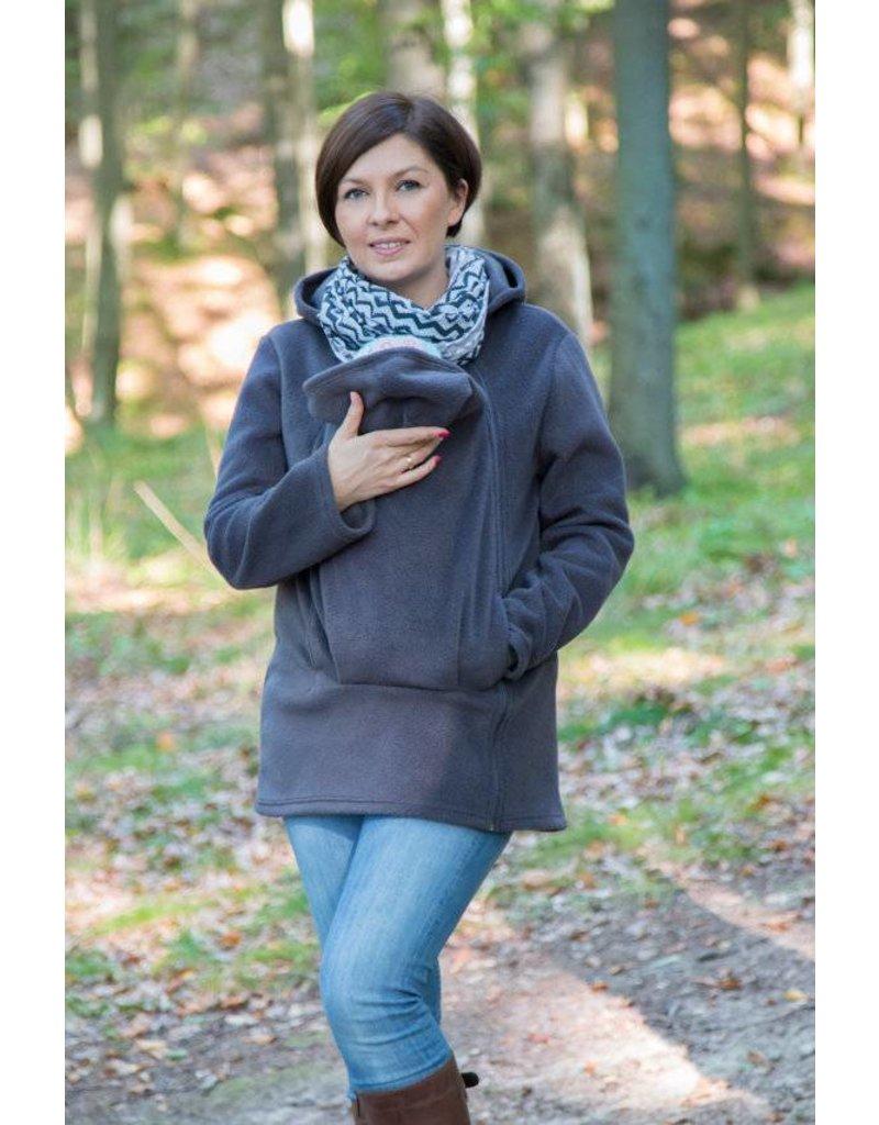 BASIC Fleece babywearing jacket - Graphite
