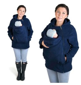 BASIC Fleece babywearing jacket - Navy