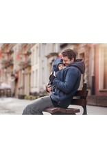 NEW LUNA for MEN 3in1 babywearing jacket - Graphite / Black