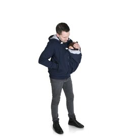 New Men Sweater/hoodie – Navy/Grey