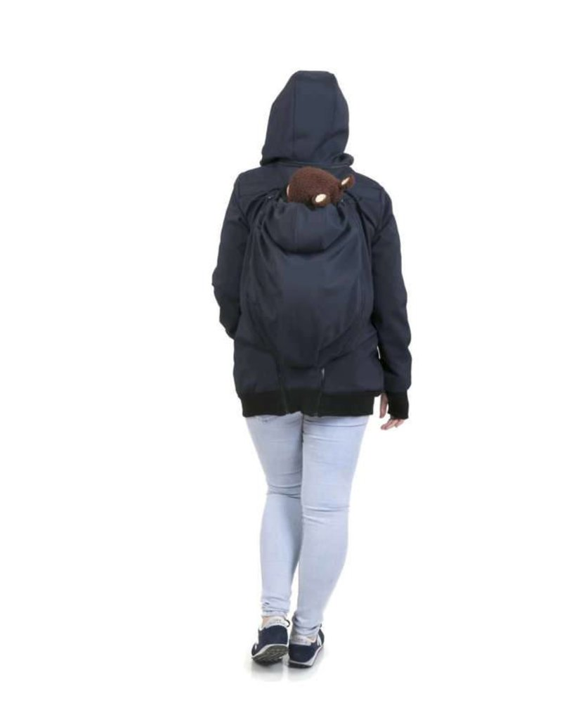 Allweather Softshell 3in1 avec fonction de dos - Navy