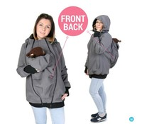 Allweather Softshell 3in1 with back function - Graphite