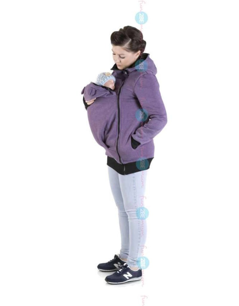 MAYA - Babywearing vest cotton - purple