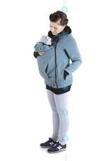 MAYA - Gilet de portage coton - blue jeans