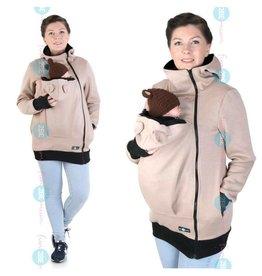 MAYA - Babywearing vest cotton - beige